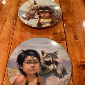 Pride of American's Indians Collector Plates